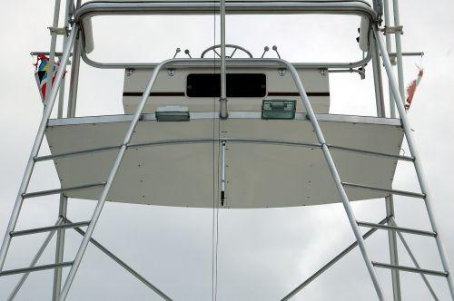 charter boat fishing boat flying bridge