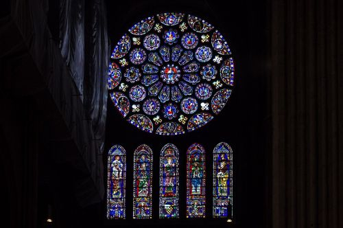 chartres cathedral rosette