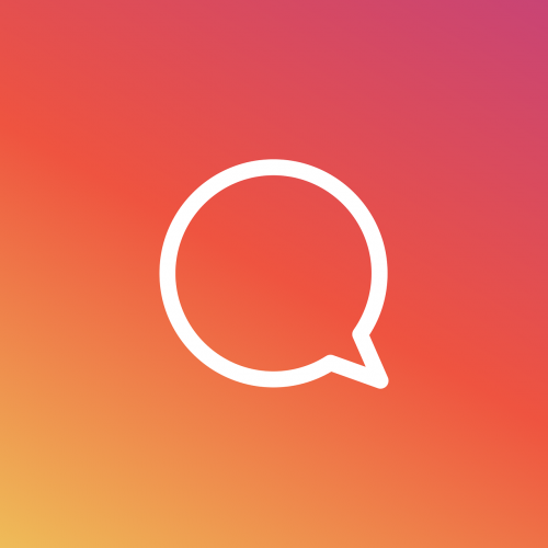 chat icon instagram
