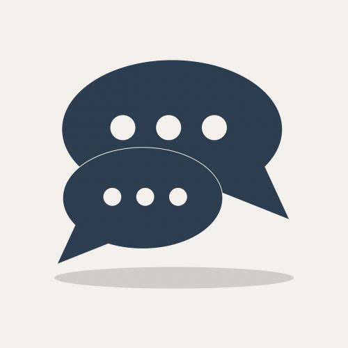 chat icon communication