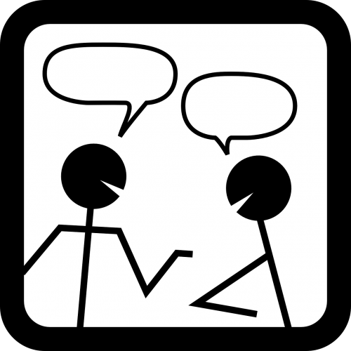 chat discussion meeting