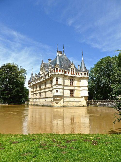 chateau d'azay le rideau chateau castle