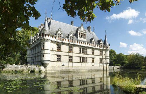 château d'azay-le-rideau loire france