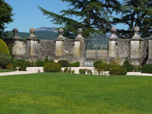 chateau de genas france wall