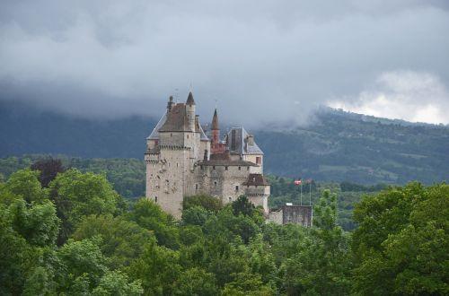 château de menthon-saint-bernard castle france