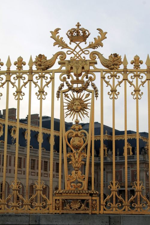 château de versailles france grid