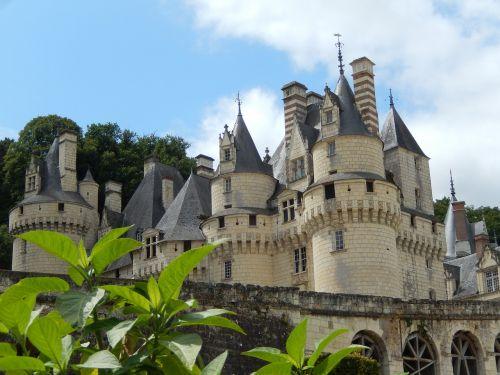 château d'ussé royal castle castle