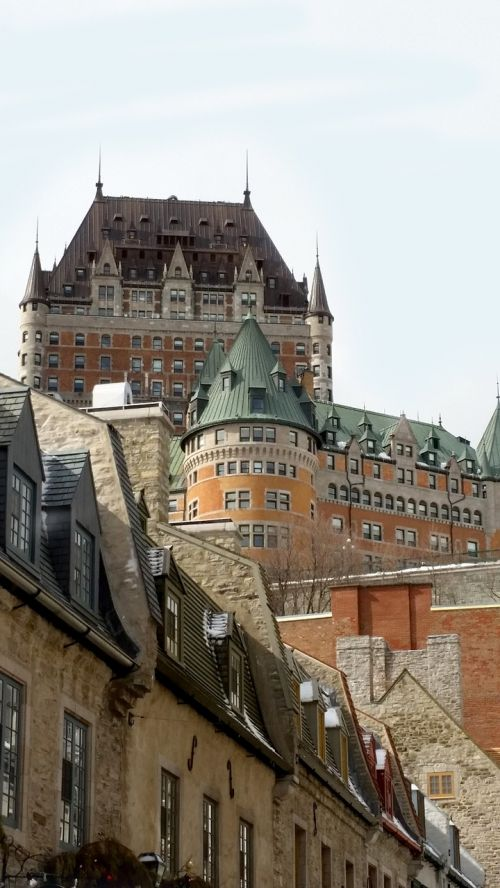 quebec old quebec chateau frontenac