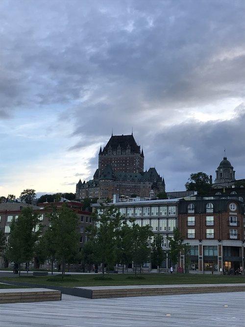 château frontenac  quebec city  quebec