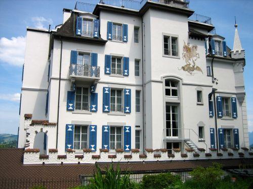 chateau gütsch lucerne switzerland
