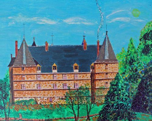 châteaux de la loire azay curtain architecture
