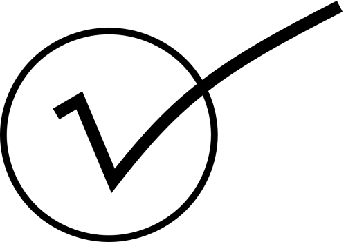 check symbols mark