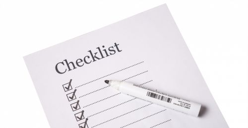 Check List Isolated