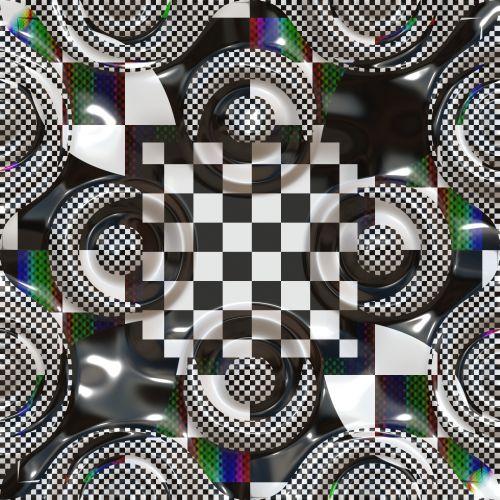 Checker Kaleidoscope