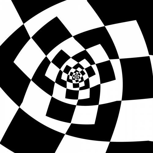 Checker Spiral
