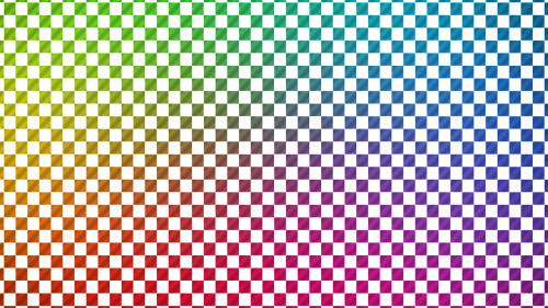 checkerboard multicolor reflection