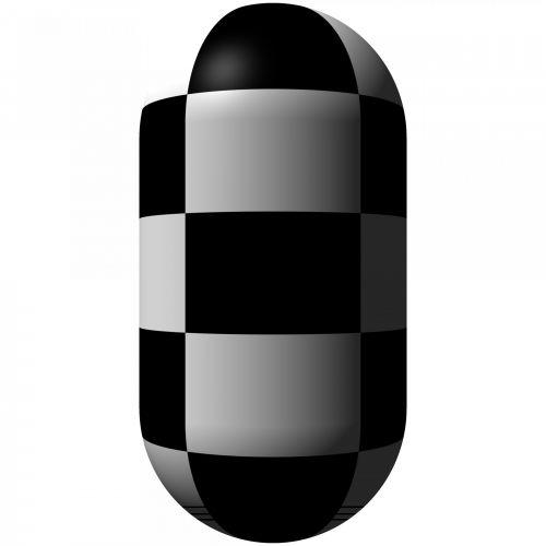 Checkerboard Cylinder