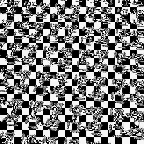 Checkerboard Floor Tiles