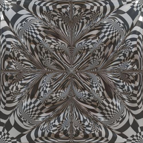Checkerboard Flower