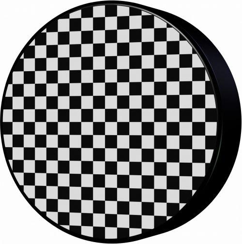 Checkerboard Puck