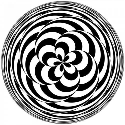 Checkerboard Spiral