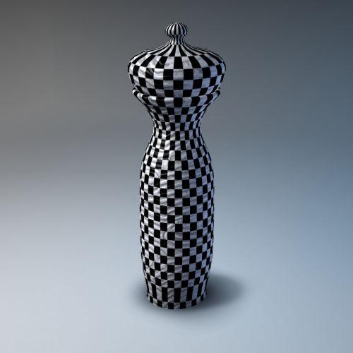 tikrintojas, šaškių lentelė, vazos, izoliuotas, gradientas, mėlynas, fonas, modelis, Kinija, porcelianas, Porcelianas, trapi, keramika, molis, menas, šiuolaikiška, šaukštelis vaza 1