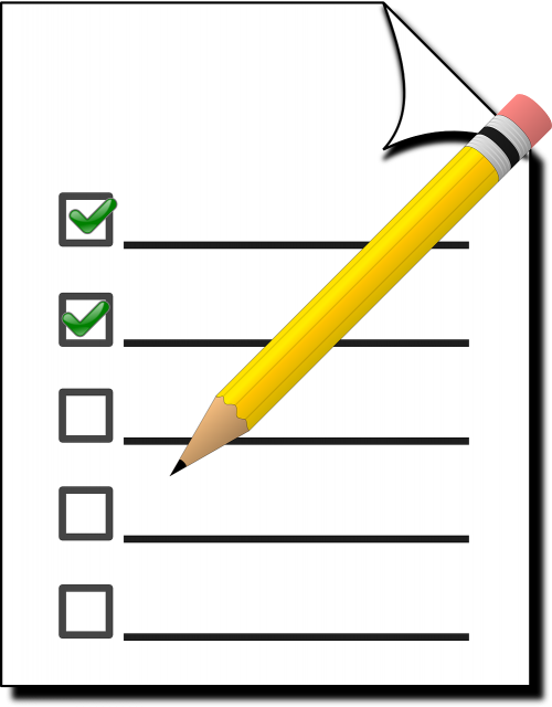 checklist check marketing