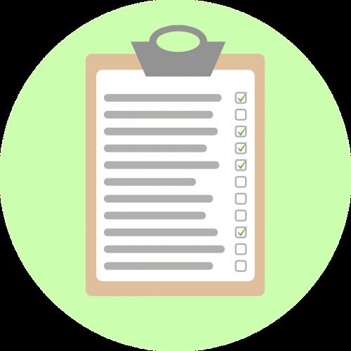 checklist analysis check off