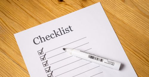 checklist check list