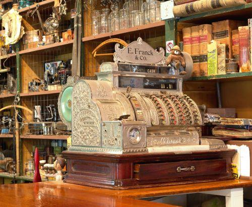 checkout cash machines business