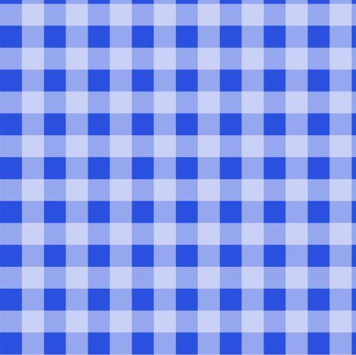 Checks Blue Gingham Background
