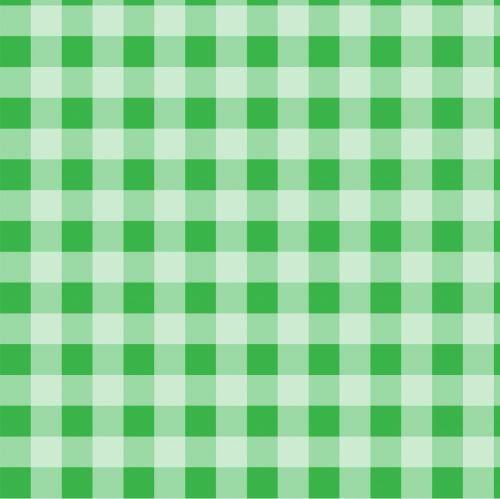 Checks Green Gingham Background