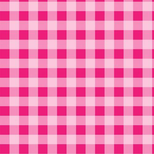 Checks Pink Gingham Background