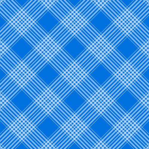 Checks, Plaid Background Blue