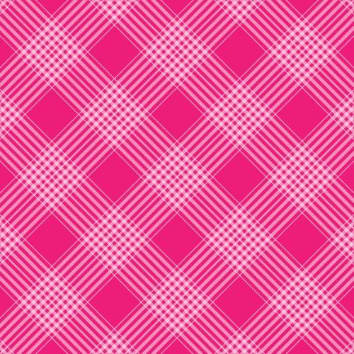 Checks Plaid Background Pink