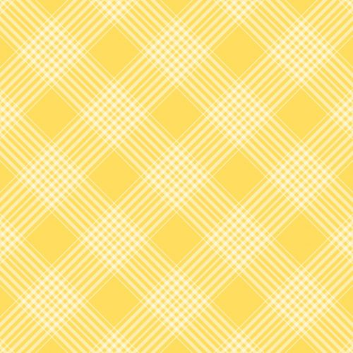 Checks Plaid Background Yellow