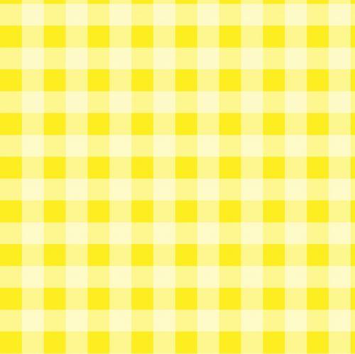 Checks Yellow Gingham Background