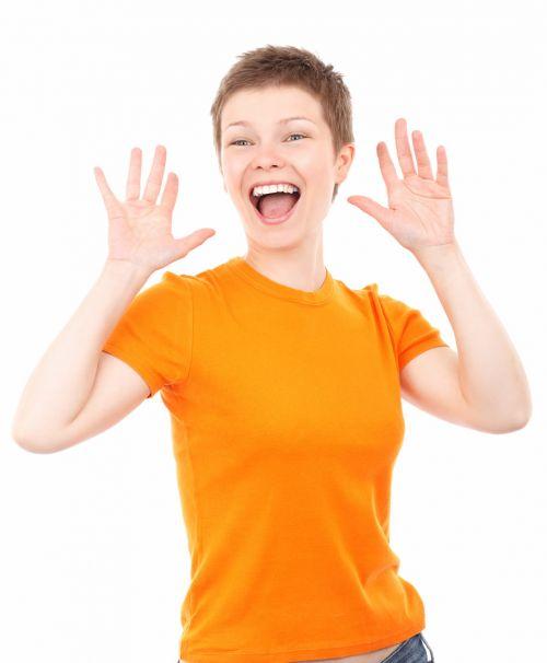 Cheerful Woman