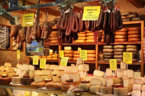 cheese sausage ham