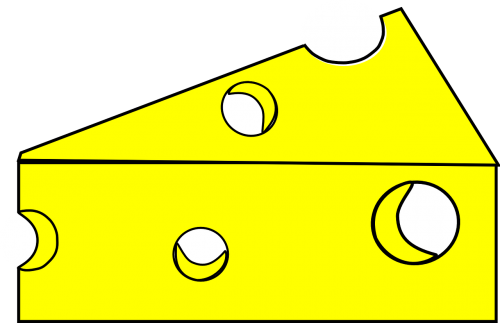 cheese yellow triangle