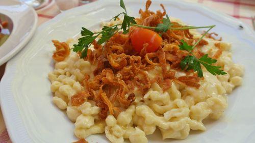 cheese noodles spätzle cheese