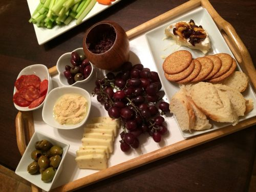 cheese platter food appetizer