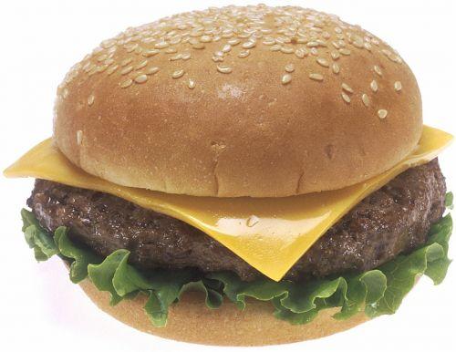 cheeseburger sesame seed