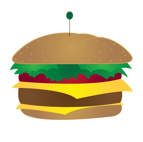 cheeseburger burger fastfood