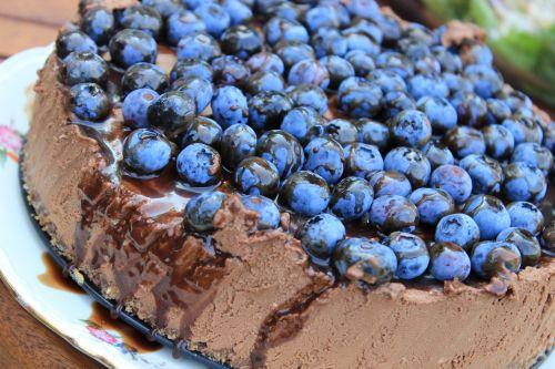 cheesecake american bilberry