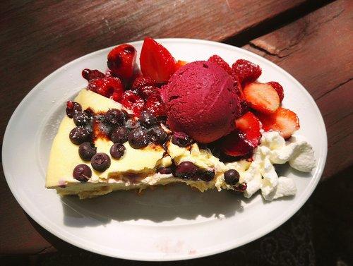 cheesecake  cake  ice cream