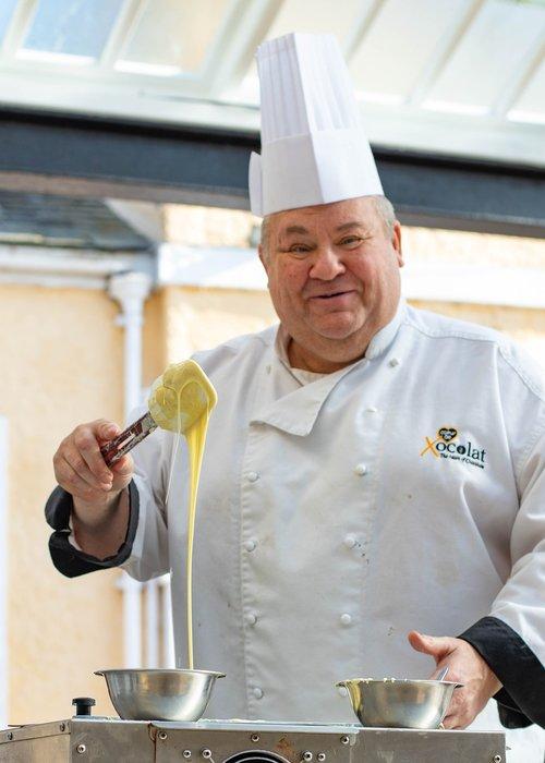 chef  chocolatier  dessert