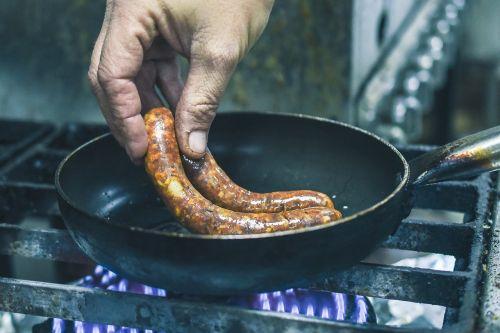 chef service hotdog