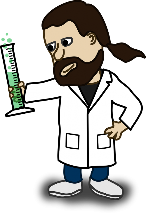 chemicals chemist comic characters