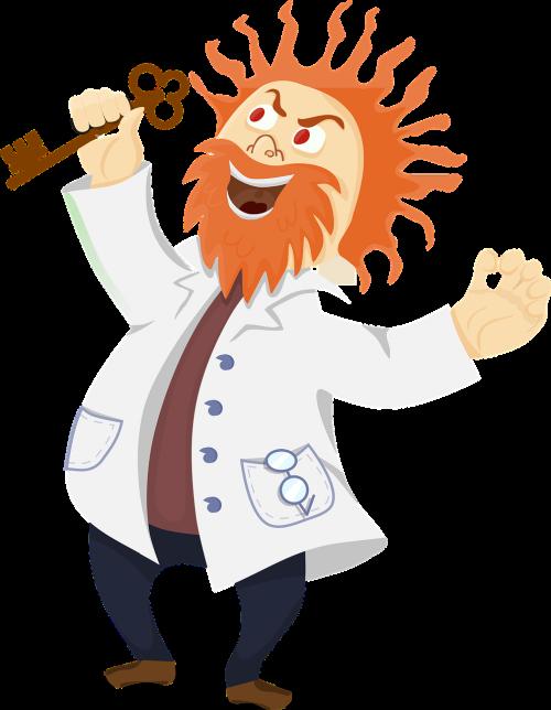 chemist coat comic characters
